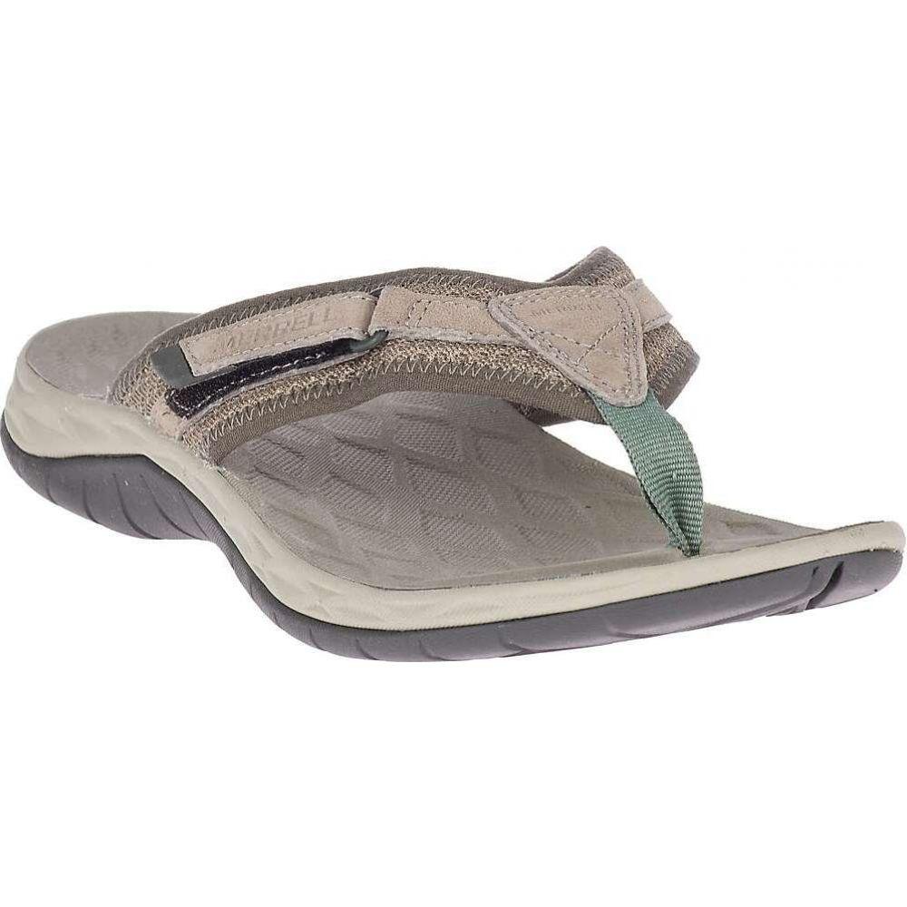 数量限定 メレル レディース シューズ 送料無料お手入れ要らず 靴 ビーチサンダル Taupe Flip サイズ交換無料 Merrell Flop Siren 2
