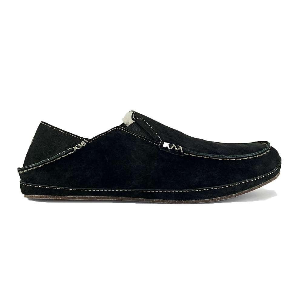オルカイ メンズ シューズ・靴 スリッポン・フラット【OluKai Moloa Slipper】Black / Black
