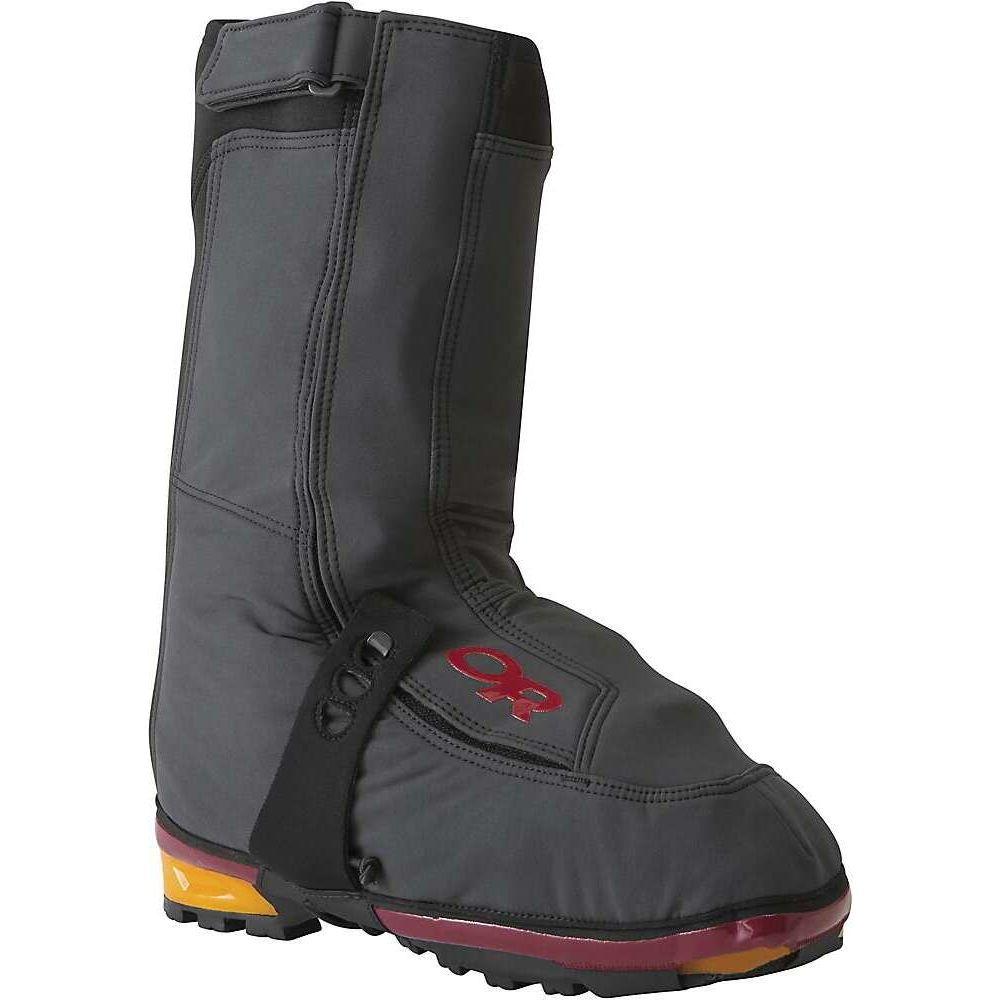 アウトドアリサーチ ユニセックス 最新 実物 シューズ 靴 インソール 靴関連用品 Chili X-Gaiter Research Outdoor Black サイズ交換無料