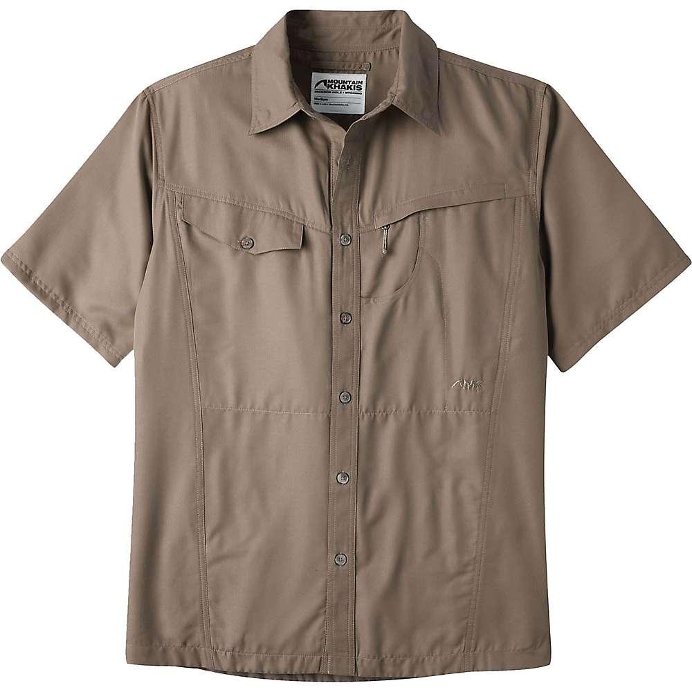 マウンテンカーキス メンズ トップス 半袖シャツ【Mountain Khakis Trail Creek SS Shirt】Firma