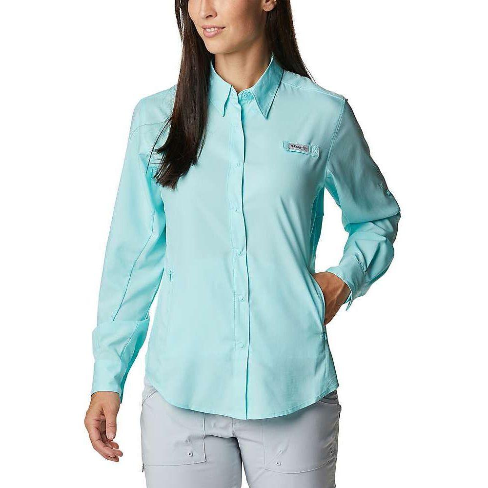 コロンビア レディース 釣り 最安値に挑戦 フィッシング トップス Gulf Stream II Tamiami LS 高額売筋 サイズ交換無料 Shirt Columbia