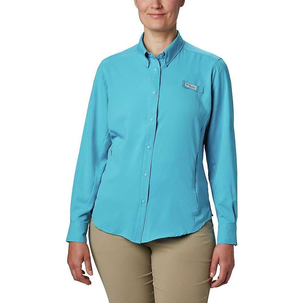 送料無料/新品 コロンビア レディース 釣り フィッシング トップス Clear Water Shirt II Tamiami Columbia 全商品オープニング価格 サイズ交換無料 LS
