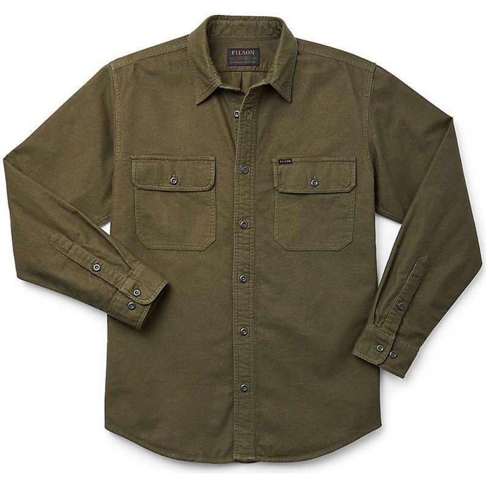 フィルソン メンズ 釣り・フィッシング トップス Otter Green 【サイズ交換無料】 フィルソン Filson メンズ 釣り・フィッシング ネルシャツ トップス【Field Flannel Shirt】Otter Green