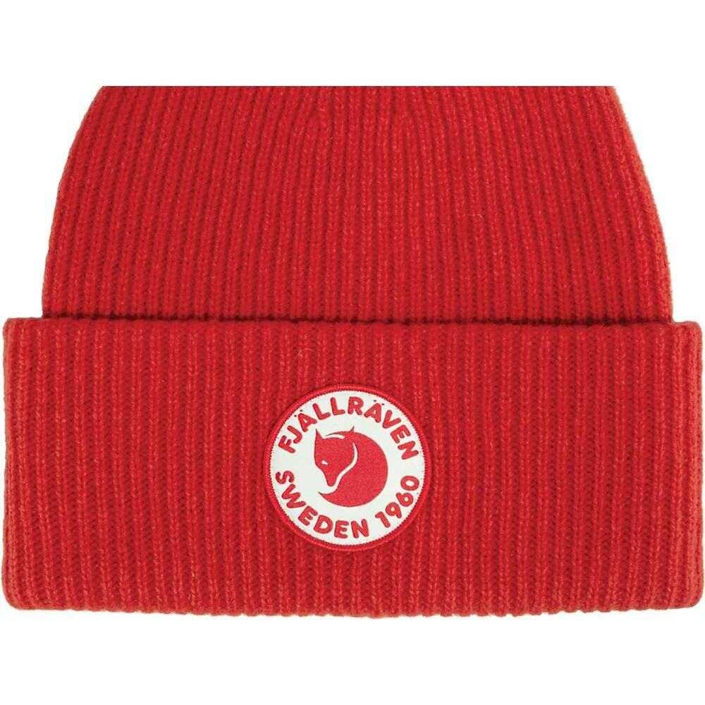 フェールラーベン 初売り ユニセックス 返品交換不可 帽子 True Red サイズ交換無料 Hat Logo Fjallraven 1960