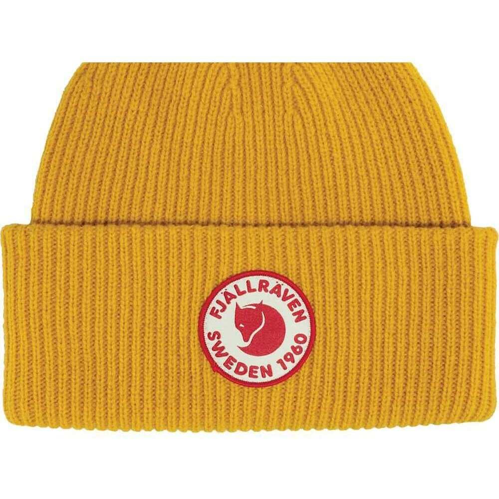 フェールラーベン ユニセックス 爆買いセール 帽子 Mustard Yellow 出群 1960 Logo サイズ交換無料 Hat Fjallraven