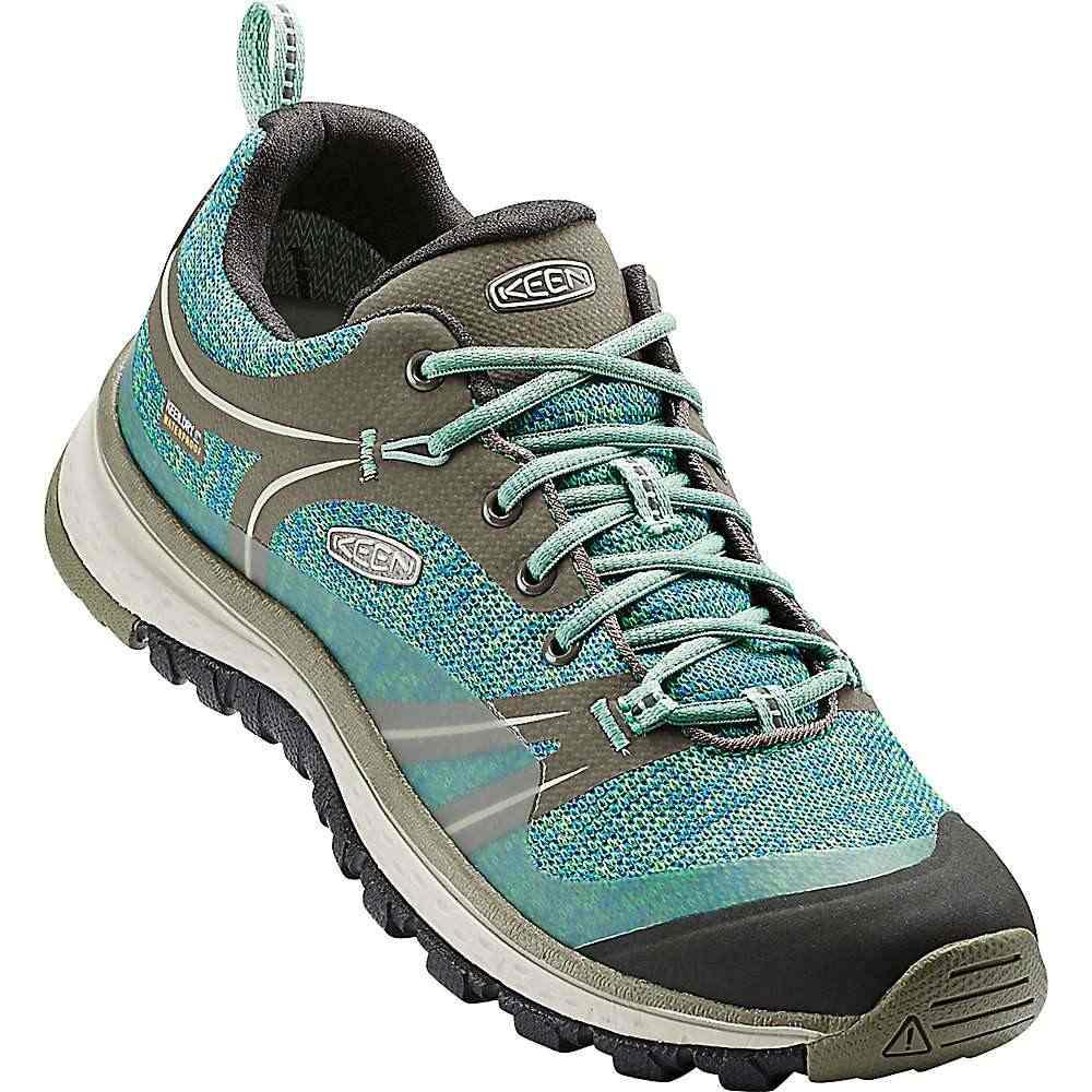 キーン レディース シューズ・靴 ウォーターシューズ【Keen Terradora Waterproof Shoe】Bungee Cord / Malachite