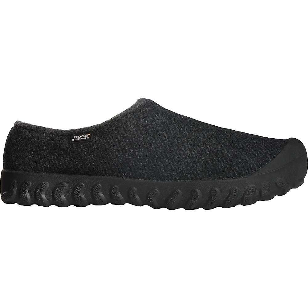 ボグス メンズ シューズ・靴 スリッポン・フラット【Bogs B-Moc Slip On Wool Shoe】Black