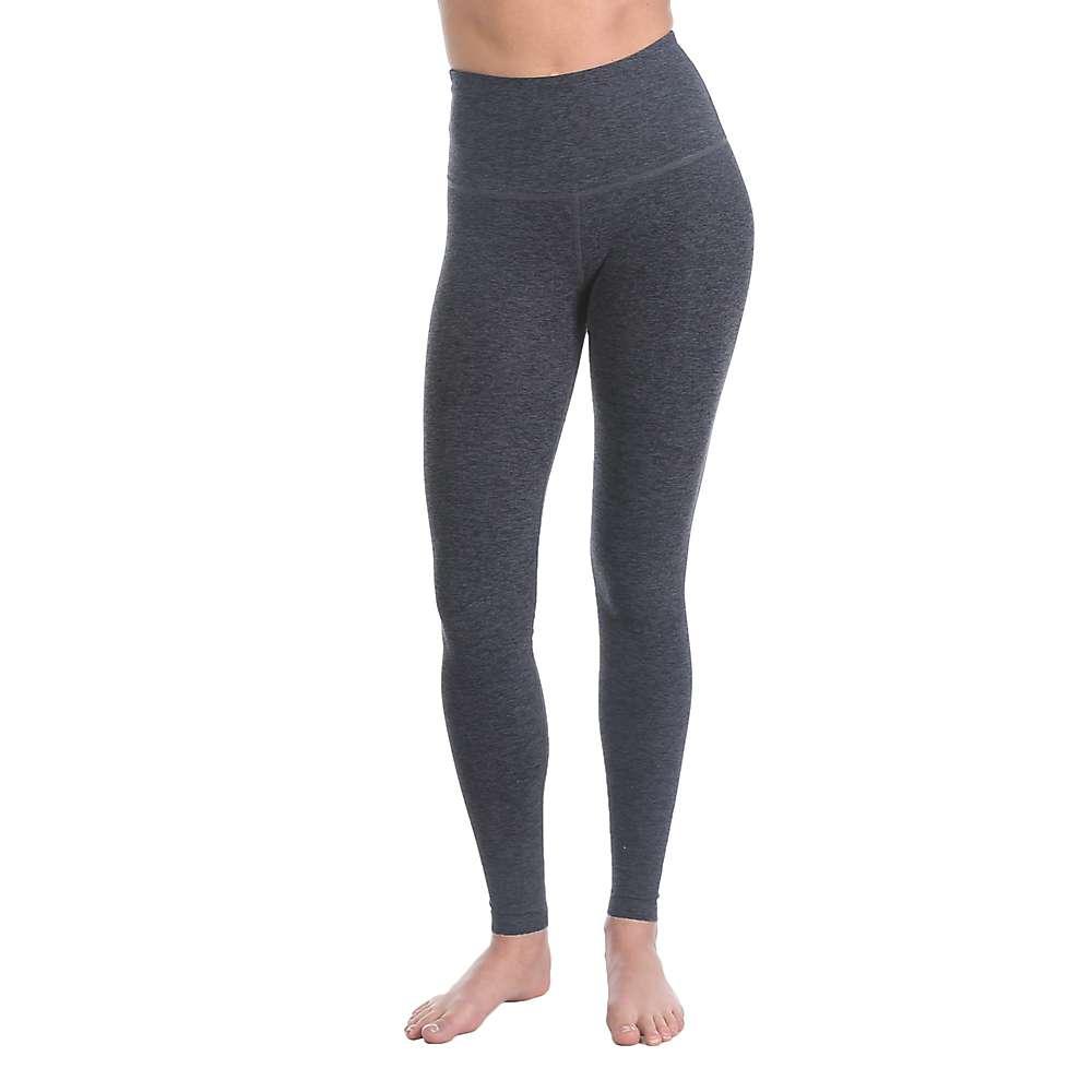 ビヨンドヨガ レディース ヨガ ウェア【Beyond Yoga Spacedye High Waist Long Legging】Black / Steel Spacedye