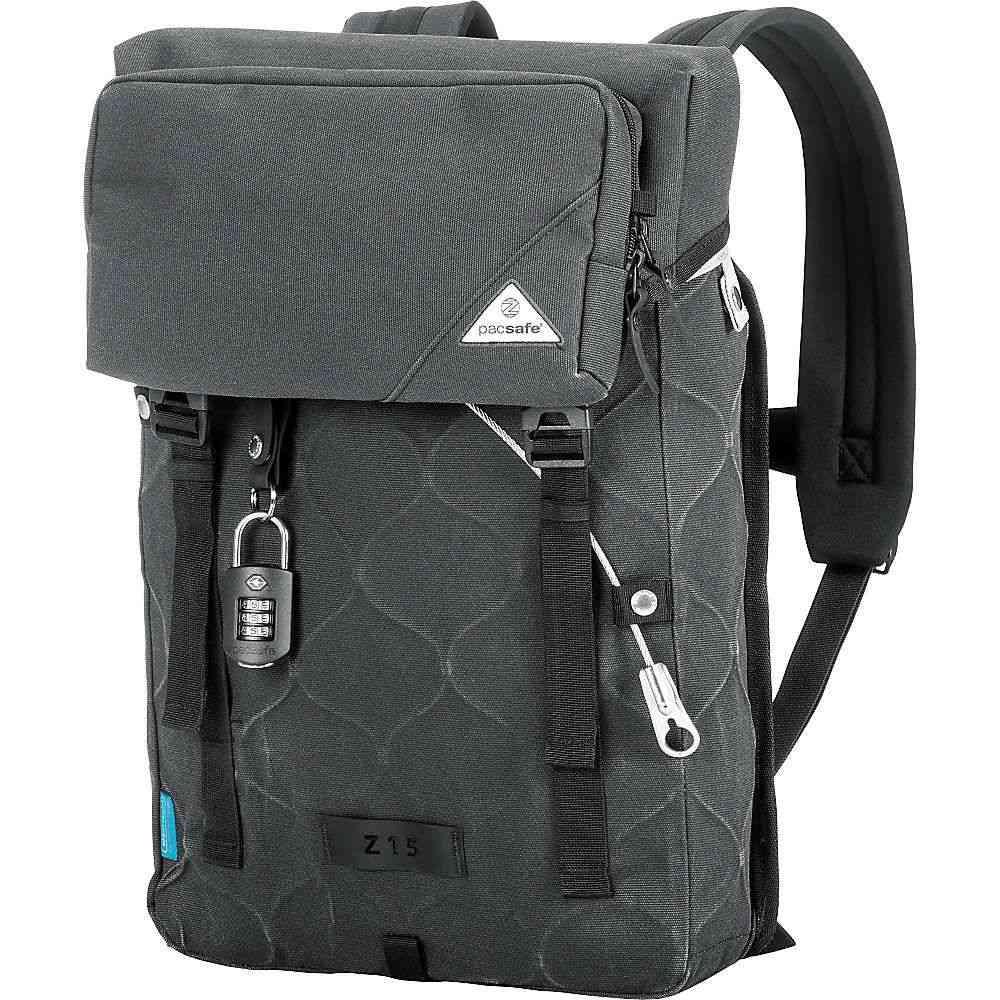 パックセイフ ユニセックス バッグ バックパック・リュック【Pacsafe Ultimatesafe Z15 Anti-Theft Backpack】Charcoal