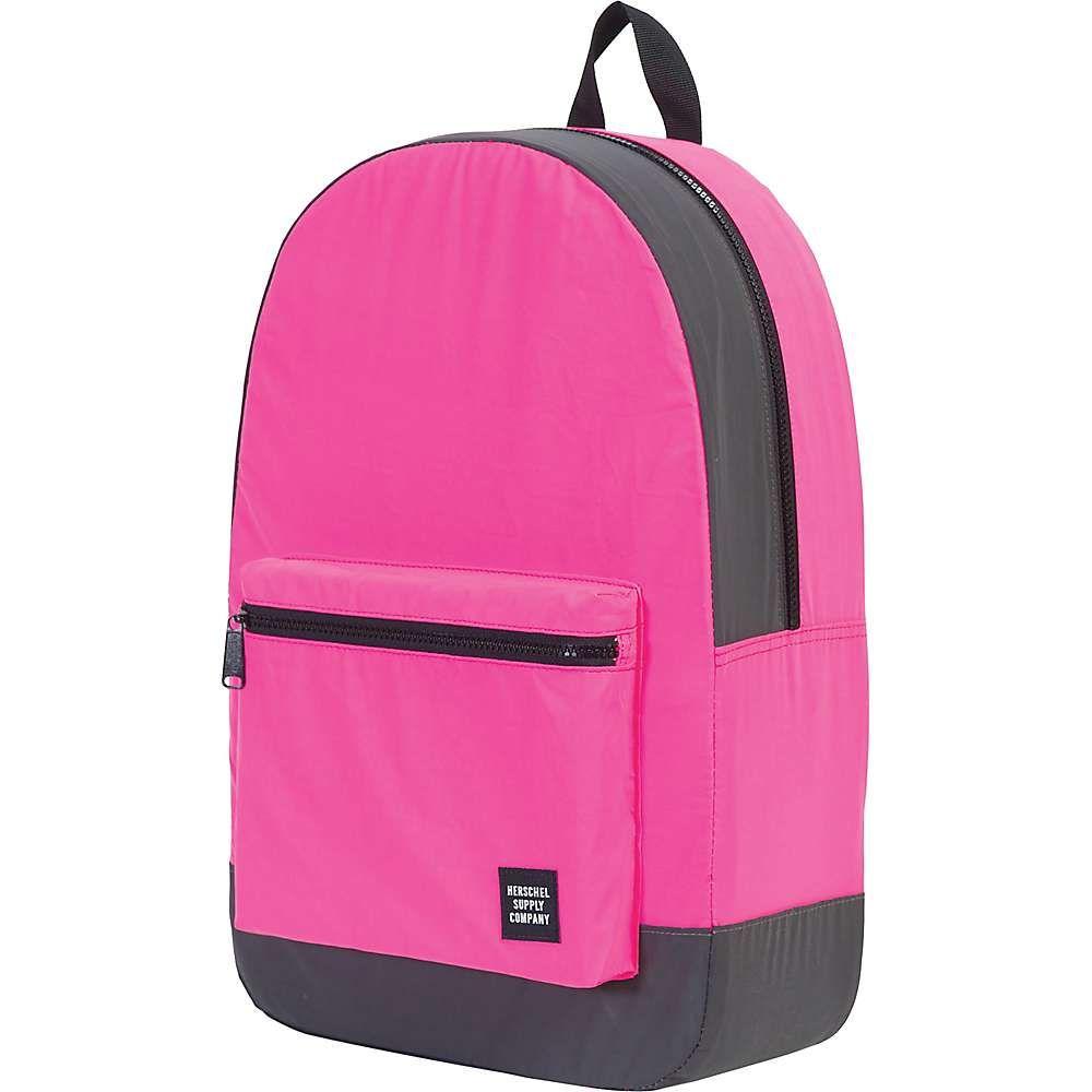 ハーシェル サプライ ユニセックス バッグ バックパック・リュック【Herschel Supply Co Packable Daypack】Neon Pink Reflective / Black Reflective