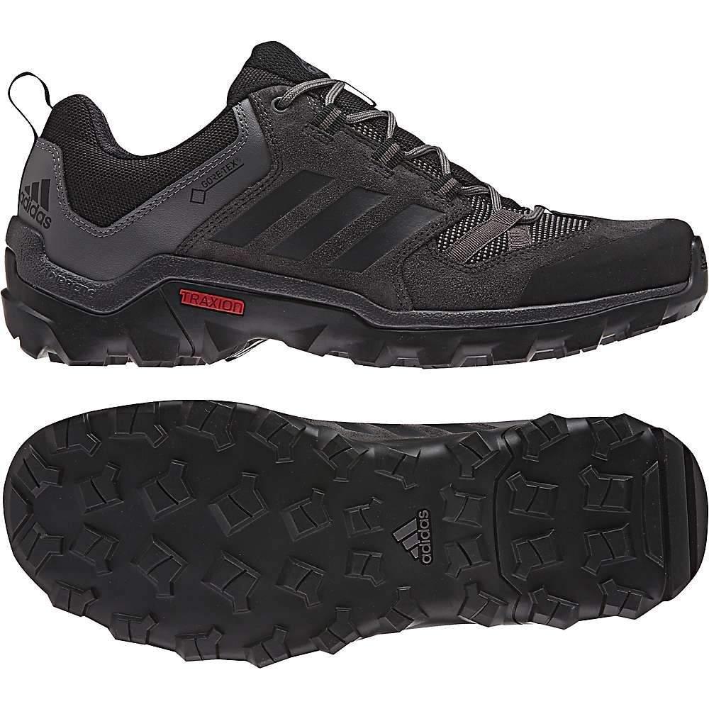 アディダス メンズ 陸上 シューズ・靴【Adidas Caprock GTX Shoe】Black / Utility Black / Granite