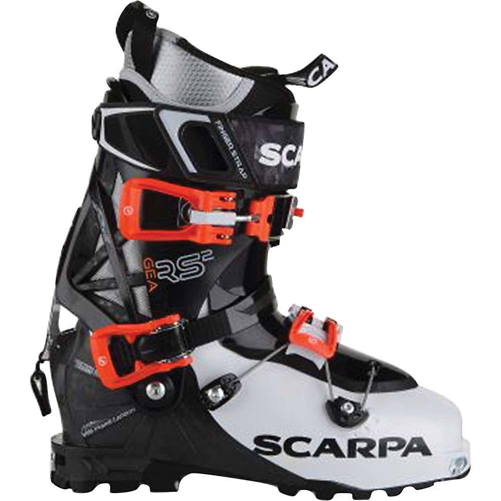 スカルパ レディース スキー・スノーボード シューズ・靴【Scarpa Gea RS Boot】White / Black / Flame