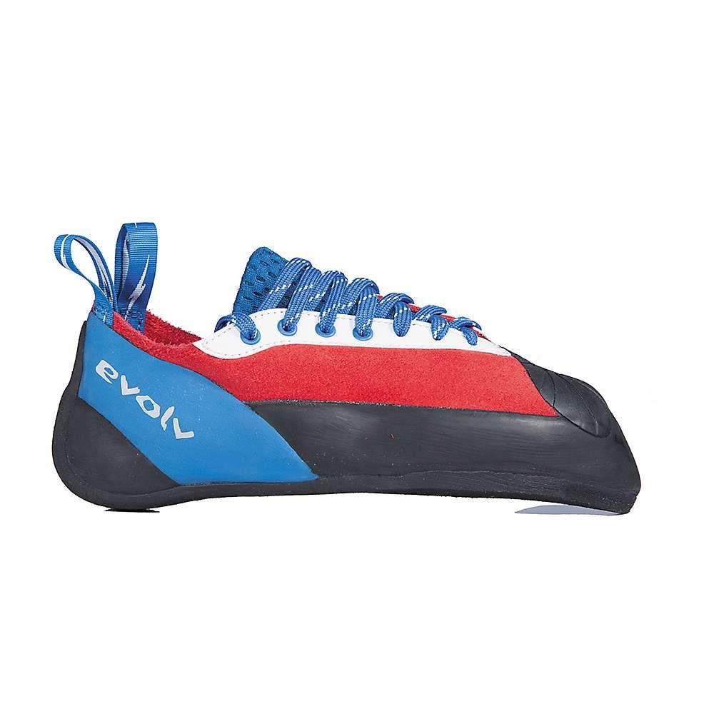 イボルブ メンズ クライミング シューズ・靴【Evolv Ashima Climbing Shoe】Red / White / Blue