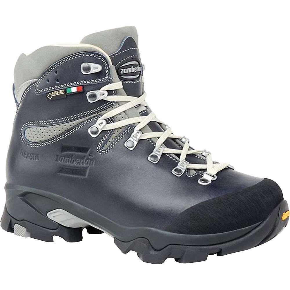 ザンバラン レディース ハイキング・登山 シューズ・靴【Zamberlan 1996 Vioz Lux RR Boot】Waxed Blue