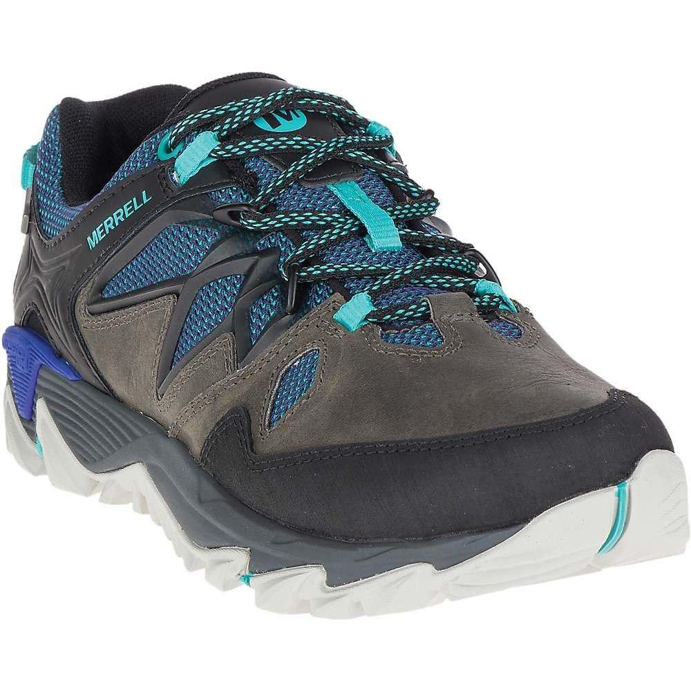 メレル レディース ハイキング・登山 シューズ・靴【Merrell All Out Blaze 2 Waterproof Shoe】Pewter / Mazarine Blue