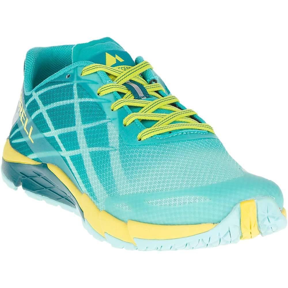 メレル レディース 陸上 シューズ・靴【Merrell Bare Access Flex Shoe】Aruba Blue