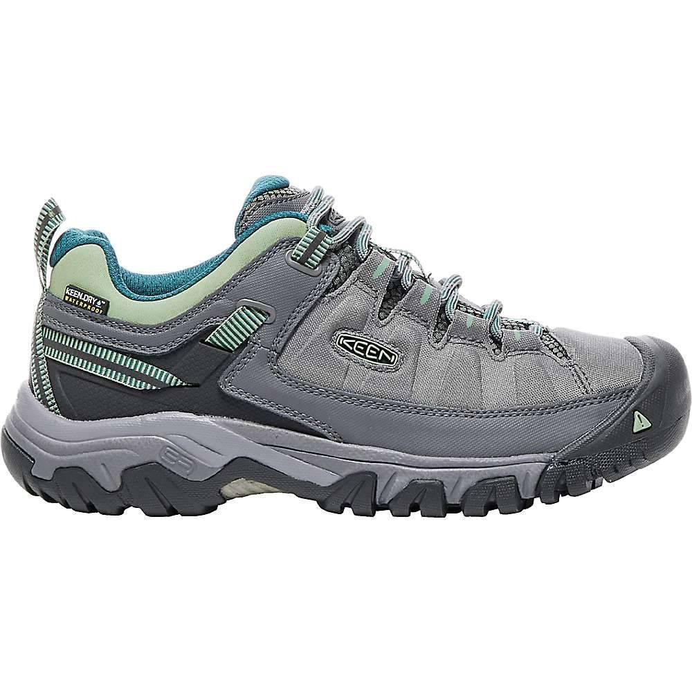 キーン レディース 陸上 シューズ・靴【Keen Targhee Exp Waterproof Shoe】Steel Grey / Basil