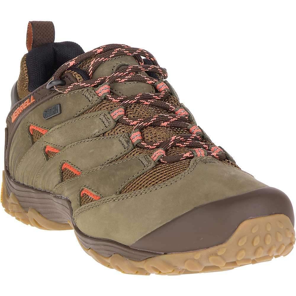 メレル レディース ハイキング・登山 シューズ・靴【Merrell Chameleon 7 Waterproof Shoe】Dusty Olive