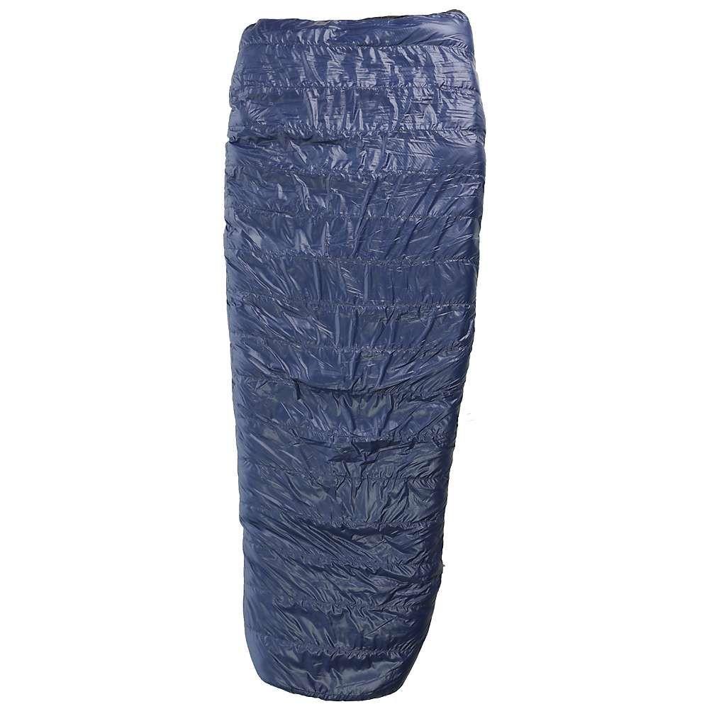 ウェスタンマウンテニアリング メンズ ハイキング・登山【Western Mountaineering Ponderosa MF 15 Degree Sleeping Bag】Navy Blue