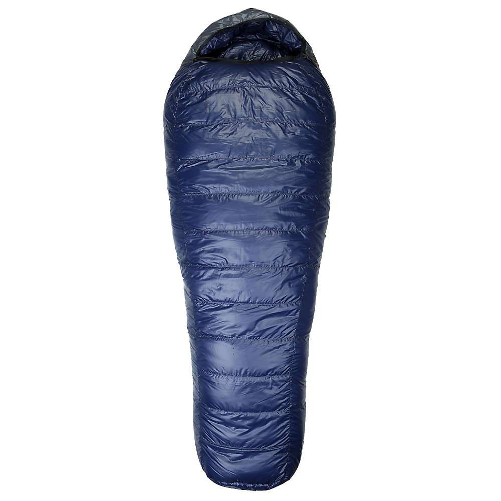 ウェスタンマウンテニアリング メンズ ハイキング・登山【Western Mountaineering Lynx MF -10 Degree Sleeping Bag】Navy Blue