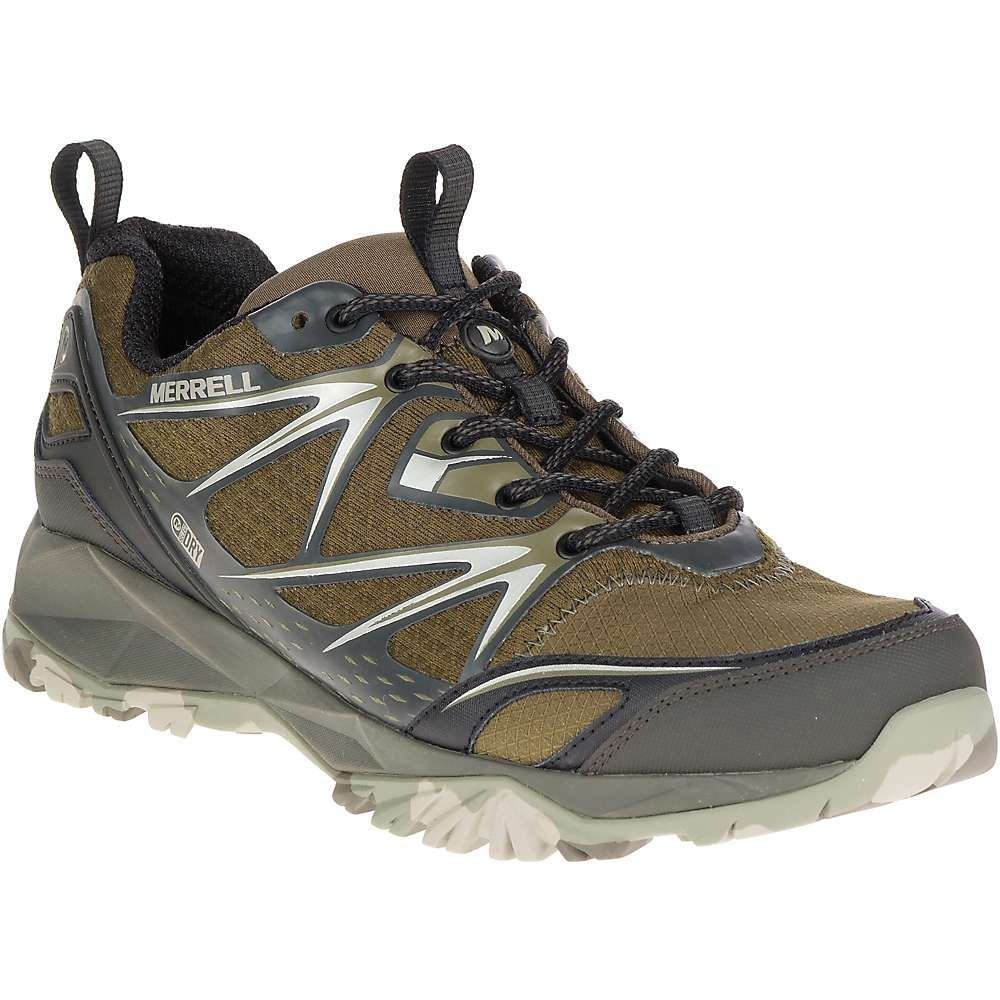 品質満点 メレル メンズ ハイキング Shoe】Dark・登山 シューズ Olive・靴【Merrell Capra Bolt Bolt Waterproof Shoe】Dark Olive, トウカイムラ:1b6fe91c --- zemaite.lt