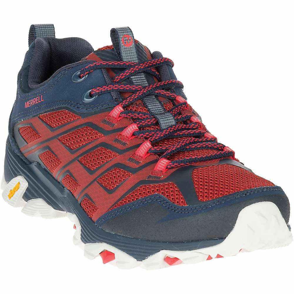 メレル メンズ ハイキング・登山 シューズ・靴【Merrell MOAB FST Shoe】Navy / Dark Red