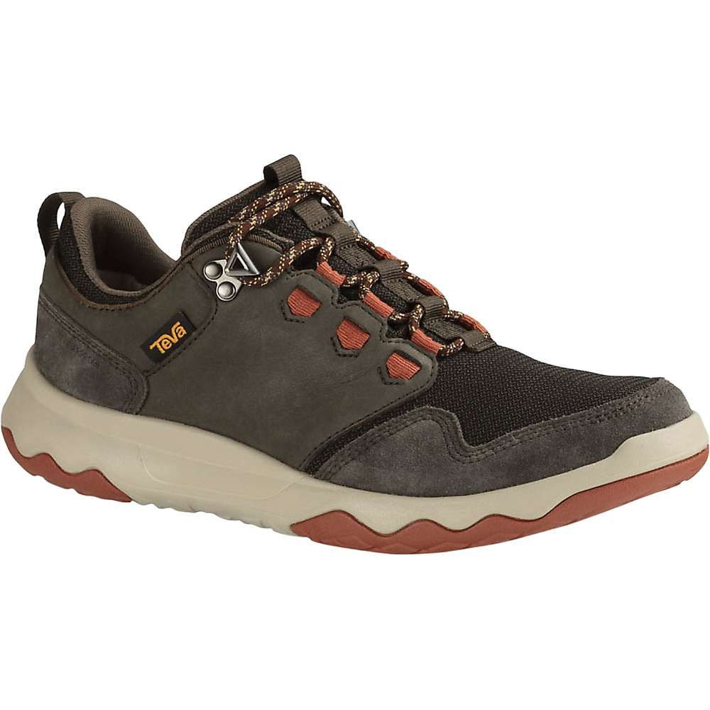テバ メンズ ハイキング・登山 シューズ・靴【Teva Arrowood Waterproof Shoe】Black Olive / Fired Brick