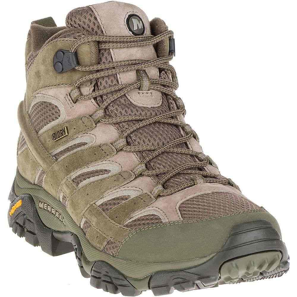メレル メンズ ハイキング・登山 シューズ・靴【Merrell MOAB 2 Mid Waterproof Boot】Dusty Olive