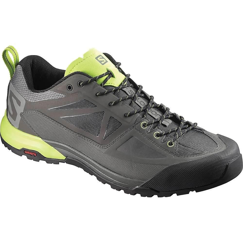【在庫あり】 サロモン メンズ ハイキング・登山 シューズ X Lime・靴【Salomon Alp X Alp Spry Shoe】Castor Gray/ Beluga/ Lime Punch, 小谷村:90549eba --- canoncity.azurewebsites.net