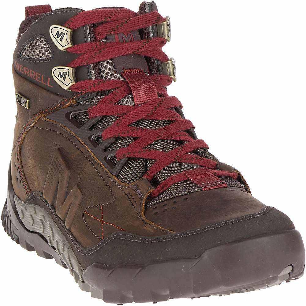 メレル メンズ ハイキング・登山 シューズ・靴【Merrell Annex Trak Mid Waterproof Shoe】Clay