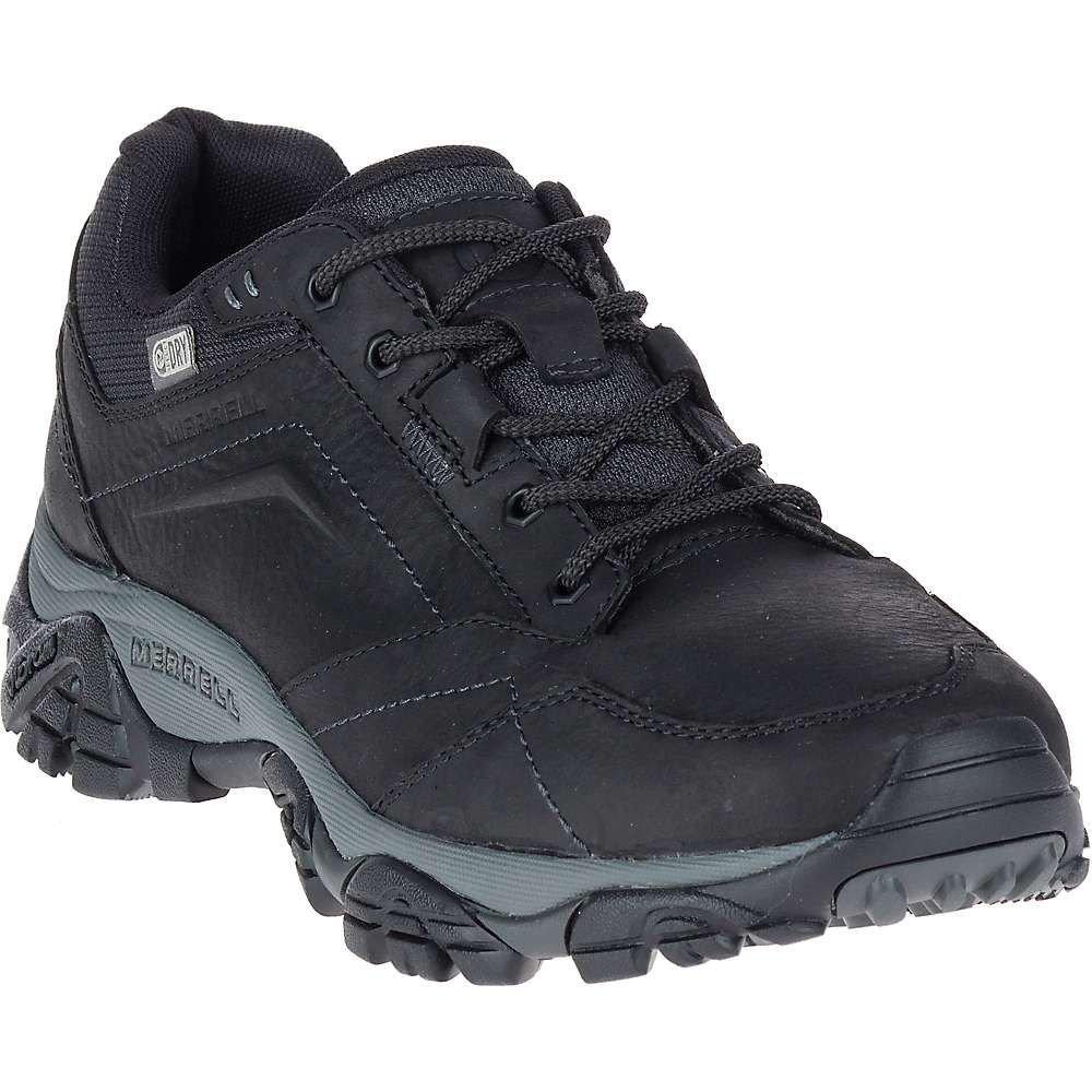 メレル メンズ ハイキング・登山 シューズ・靴【Merrell Moab Adventure Lace Waterproof Shoe】Black