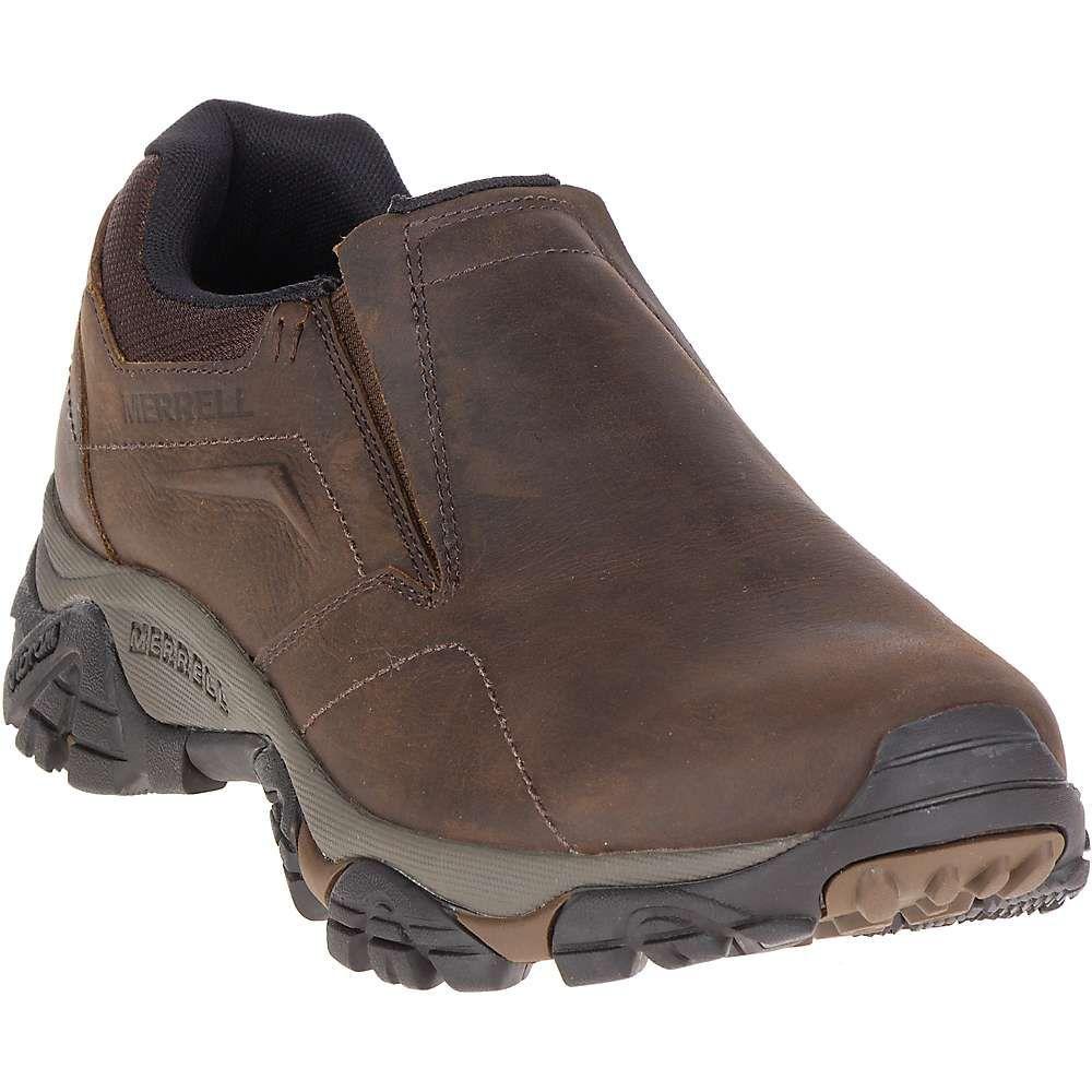 メレル メンズ ハイキング・登山 シューズ・靴【Merrell Moab Adventure Moc Shoe】Dark Earth