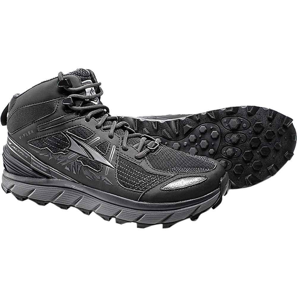 アルトラ メンズ ハイキング・登山 シューズ・靴【Altra Lone Peak 3.5 Mid Mesh Shoe】Black