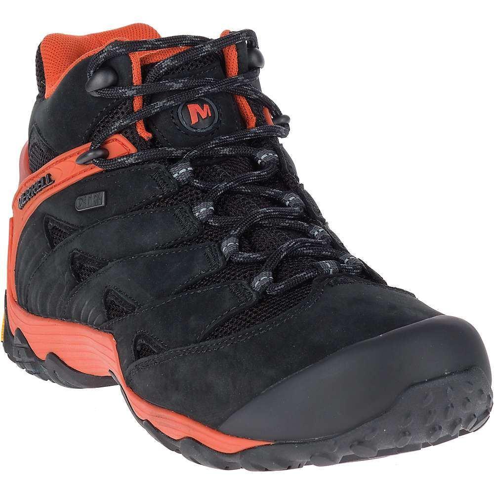 メレル メンズ ハイキング・登山 シューズ・靴【Merrell Chameleon 7 Waterproof Mid Boot】Fire