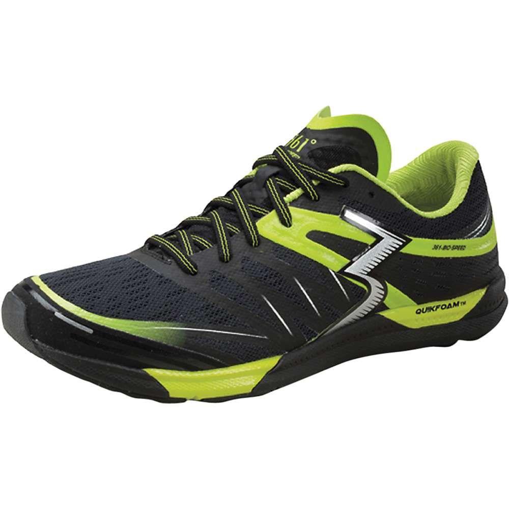 361ディグリーズ メンズ ランニング・ウォーキング シューズ・靴【361 Degrees Bio-Speed Shoe】Black / Limeaide