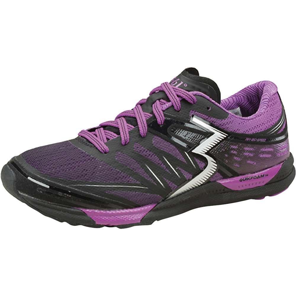 361ディグリーズ レディース ランニング・ウォーキング シューズ・靴【361 Degrees Bio-Speed Shoe】Black / Violet