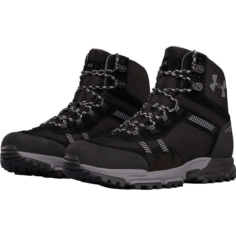 アンダーアーマー メンズ ハイキング・登山 シューズ・靴【Under Armour UA Post Canyon Mid WP Boot】Black / Black / Steel