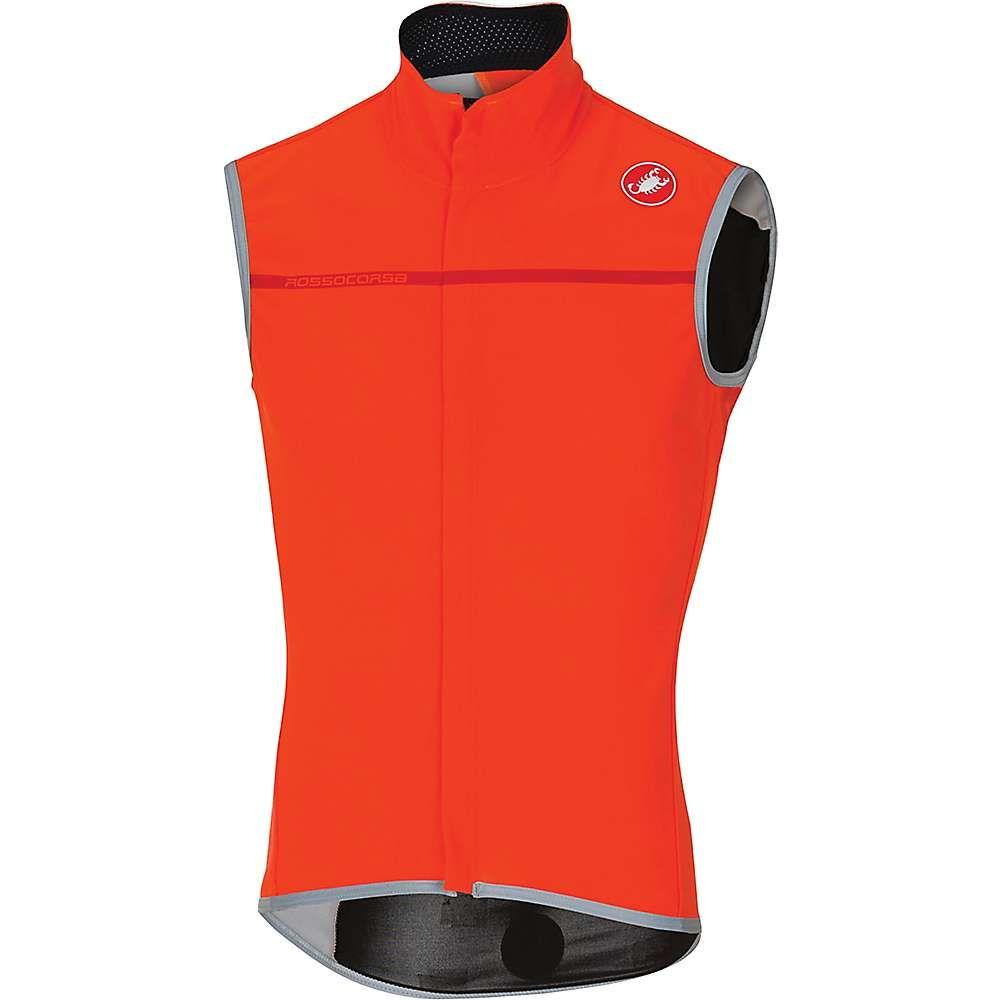 カステリ メンズ 自転車 トップス【Castelli Perfetto Vest】Orange