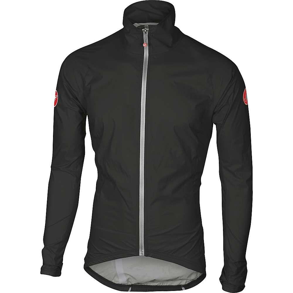人気特価激安 カステリ メンズ メンズ Jacket】Black 自転車 アウター カステリ【Castelli Emergency Rain Jacket】Black, Shop OS:1618dc91 --- clftranspo.dominiotemporario.com