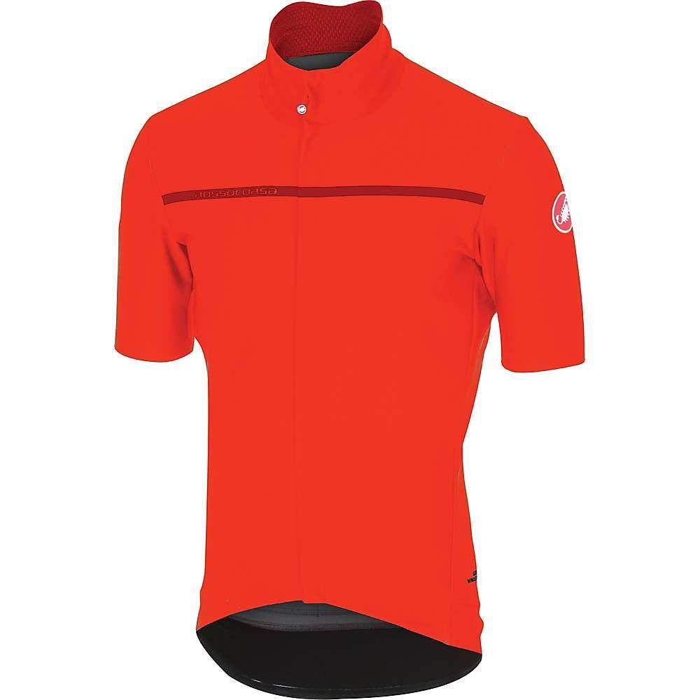 カステリ メンズ 自転車 トップス【Castelli Gabba 3 Top】Orange