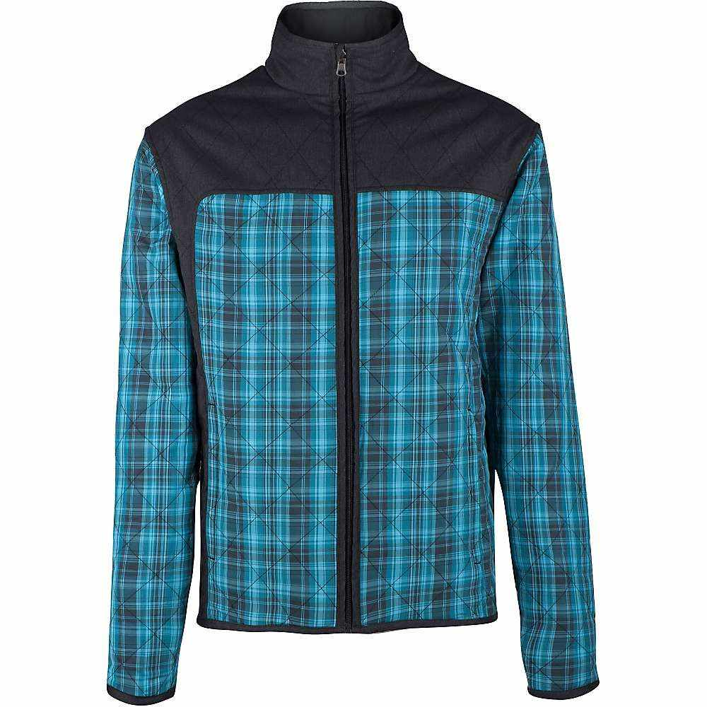 クラブライド メンズ 自転車 アウター【Club Ride Double Jack Reversible Jacket】Cosmic Plaid