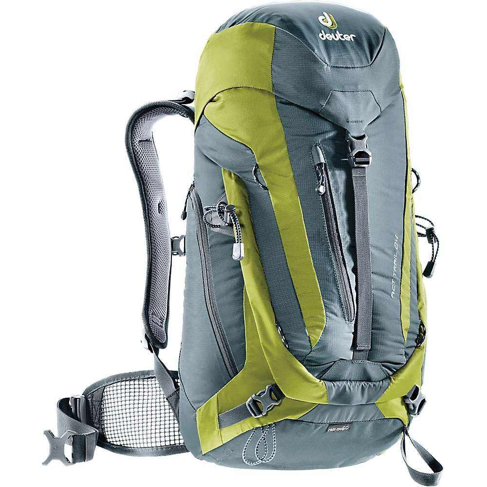 ドイター メンズ バッグ バックパック・リュック【Deuter ACT Trail 24】Granite / Moss