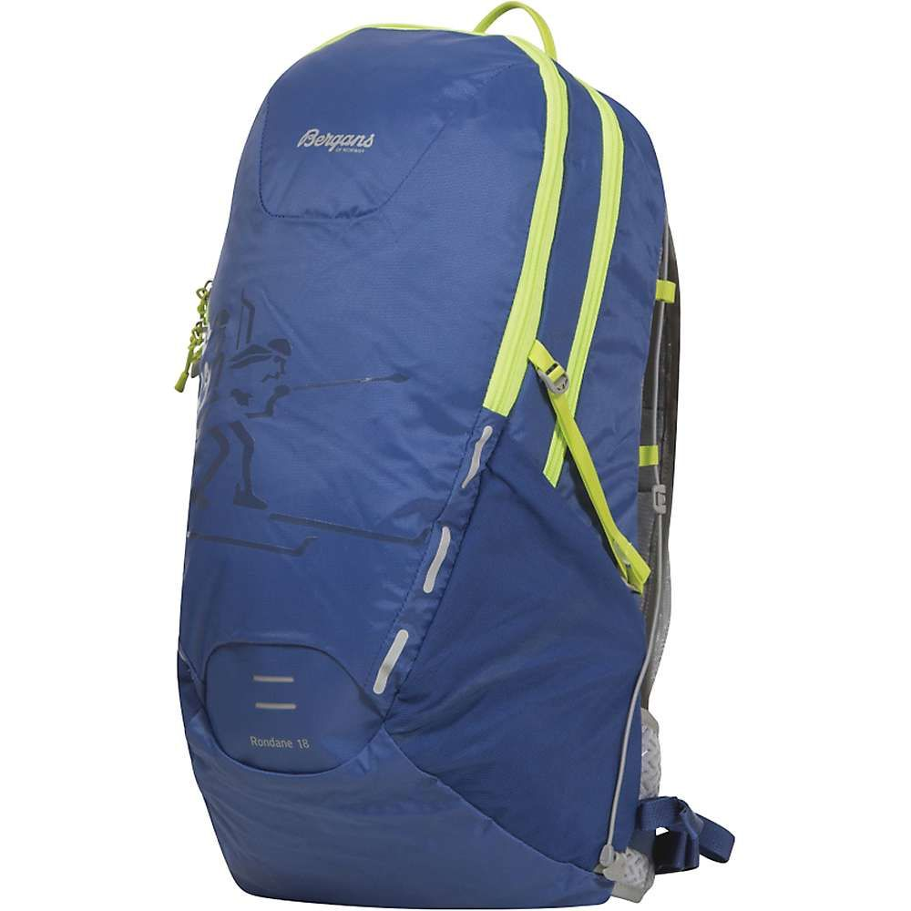 ベルガンス ユニセックス バッグ バックパック・リュック【Bergans Rondane 18L Pack】Blue / Neon Green