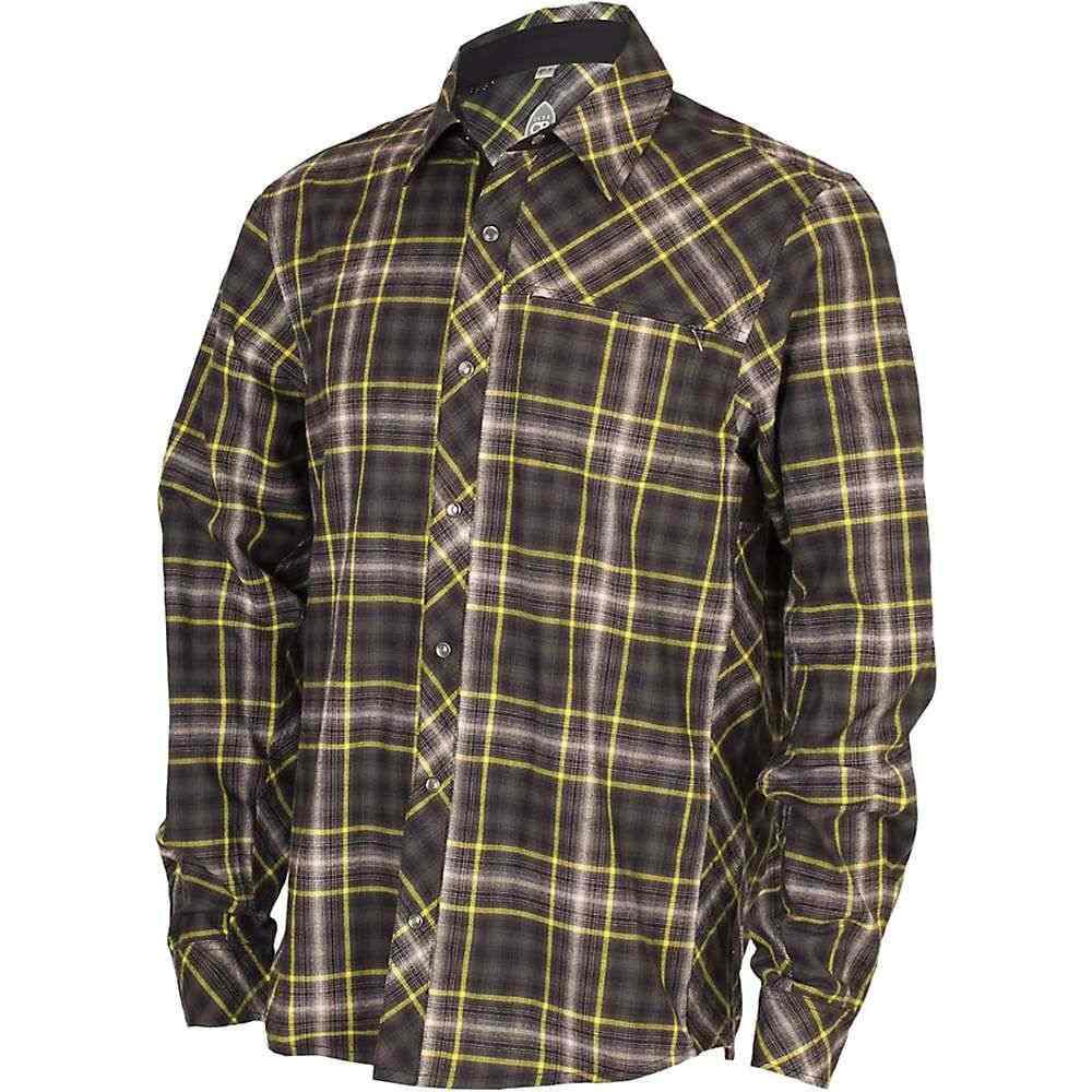 クラブライド メンズ 自転車 トップス【Club Ride Jack Flannel Shirt】Black Snap