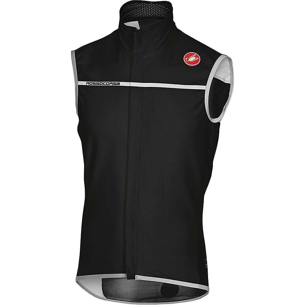 カステリ メンズ 自転車 トップス【Castelli Perfetto Vest】Light Black