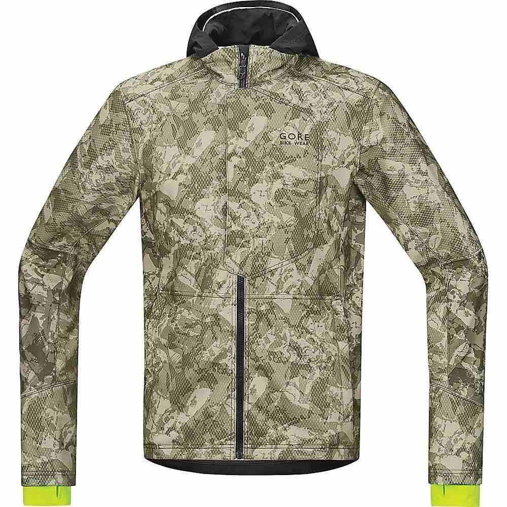 ゴア メンズ 自転車 アウター【Gore Bike Wear Element Urban Print Windstopper Soft Shell Jacket】Camouflage