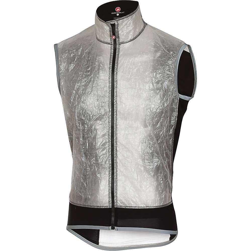 カステリ メンズ 自転車 トップス【Castelli Vela Vest】Light Grey