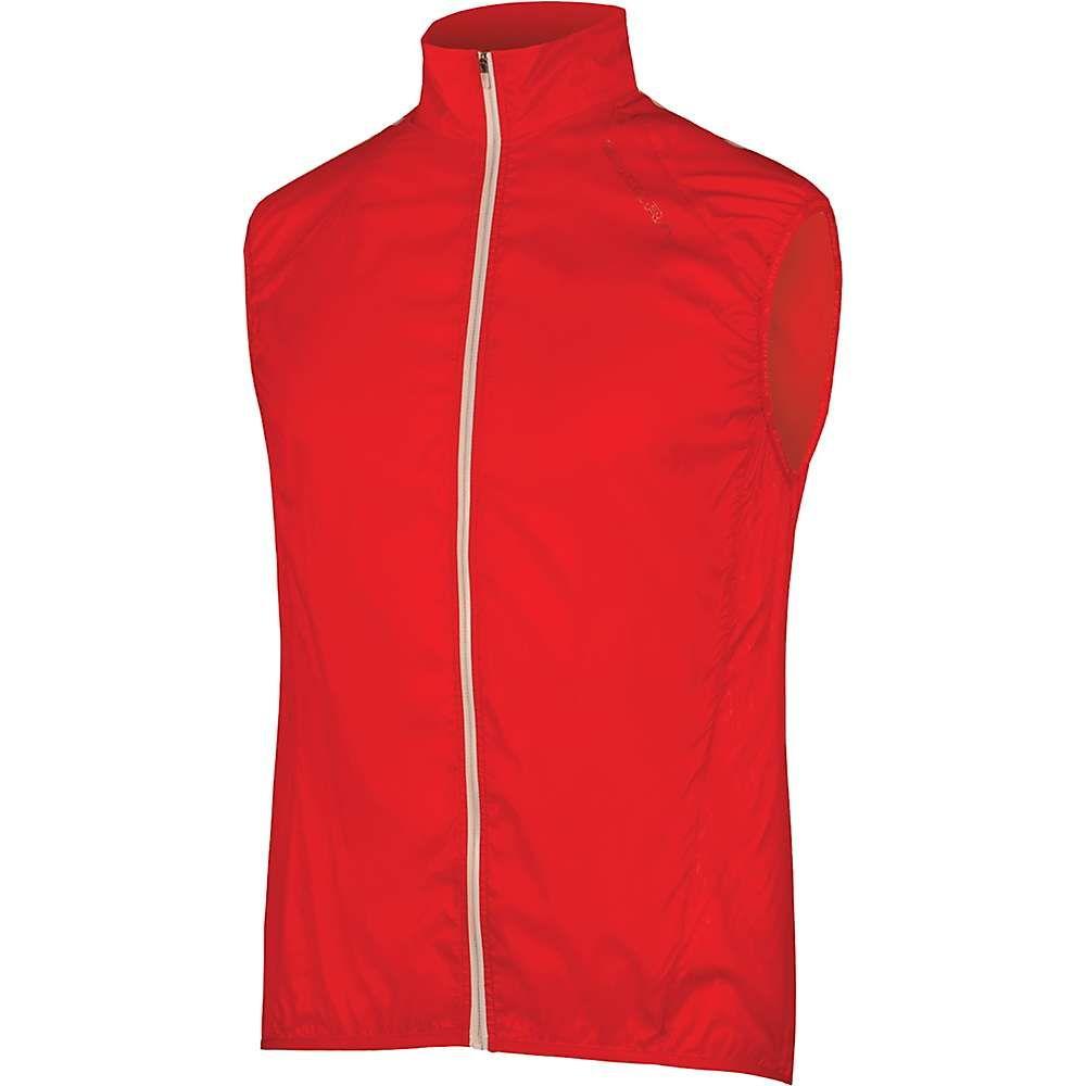 エンデュラ メンズ 自転車 トップス【Endura Pakagilet II Vest】Red