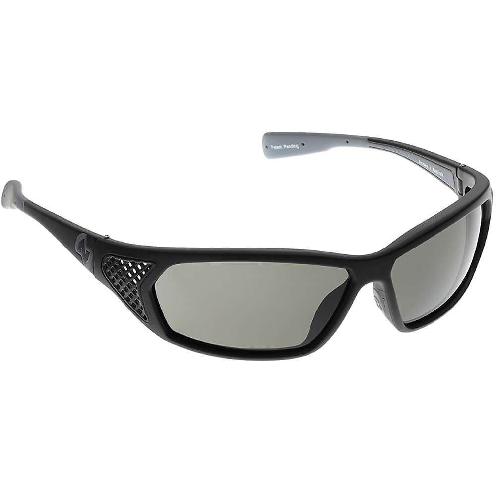 ネイティブ メンズ スポーツサングラス【Native Andes Polarized Sunglasses】Matte Black / Grey Polarized