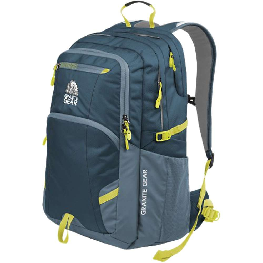 グラナイトギア メンズ バッグ バックパック・リュック【Granite Gear Sawtooth Backpack】Basalt / Bleumine / Neolime